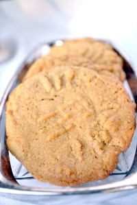 3 ingredient peanut butter cookies